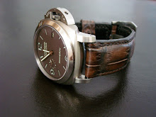 PAM 351 on Hand Antiqued American Alligator