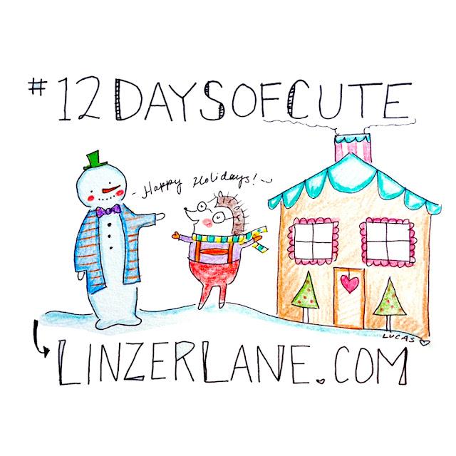 #12DaysofCute Christmas Promotion | Linzer Lane Blog | December 2016
