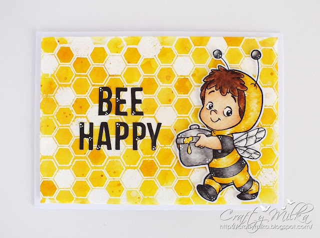 Crafty Milka: To Bee or Not To Bee Blog Hop