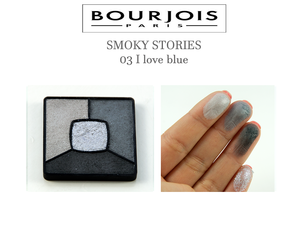 Bourjois SMOKY STORIES 03 I love blue