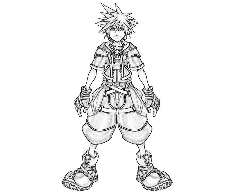 Kingdom Hearts to Coloring Pages   # Fresh Coloring Pages
