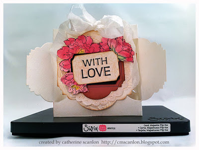 With Love by Catherine Scanlon for Sizzix using the Majestic FlipIts