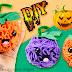 Calabazas Kawaii de fieltro – Especial Halloween