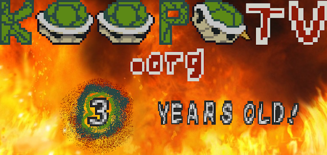 KoopaTV three year anniversary