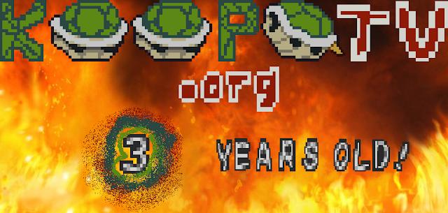 KoopaTV three year anniversary