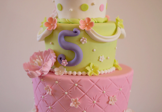 Alainas Princess Fairy 5th Birthday Cake