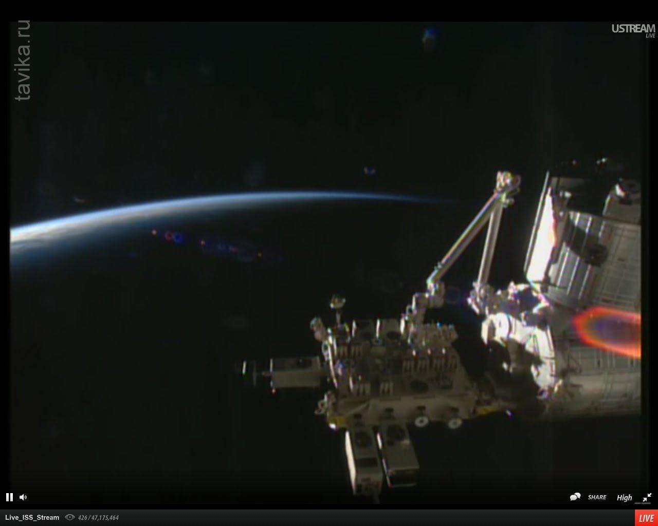 Вебкамера на МКС