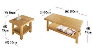 Coffee Table Measurements