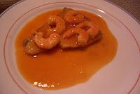 Atún en salsa de marisco