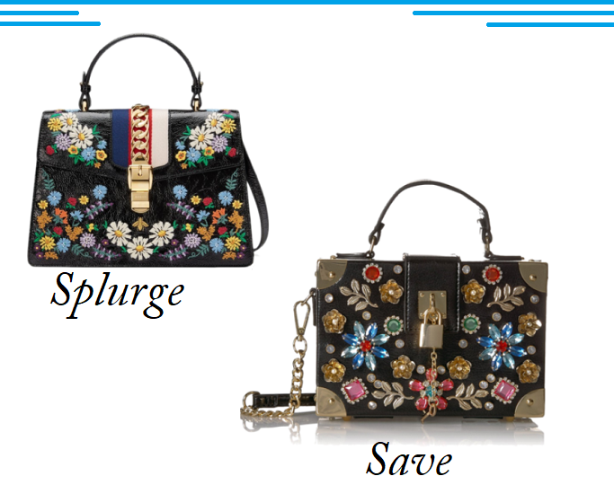 Gucci Medium Sylvie Floral Embroidered Top Handle Bag, Gucci Medium Sylvie Floral Embroidered Top Handle Look For Less, Gucci Medium Sylvie Floral Embroidered Top Handle Dupe, Gucci Medium Sylvie Floral Embroidered Top Handle Lookalike, Embellished Handbags 2018