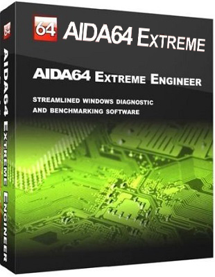 AIDA64 Extreme 5.80.4028 poster box cover