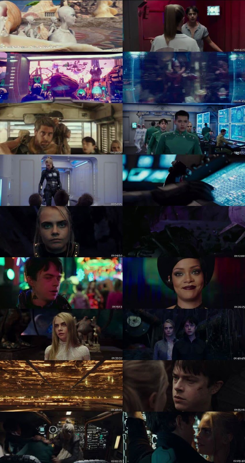 Valerian and the City of a Thousand Planets 2017 Hindi Dual Audio 480p BluRay Free Download