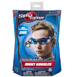 Spy Gear Night Goggles, toys, spy toys