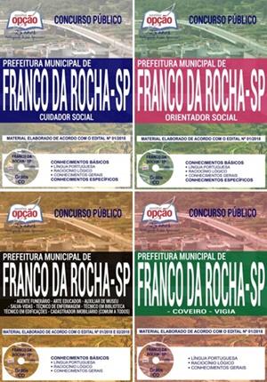 Apostila Prefeitura de Franco da Rocha 2018