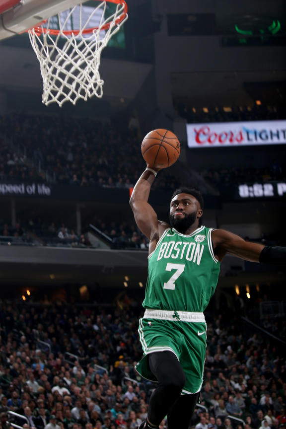 Celtics Life: Jaylen Brown WAS the bench last night and