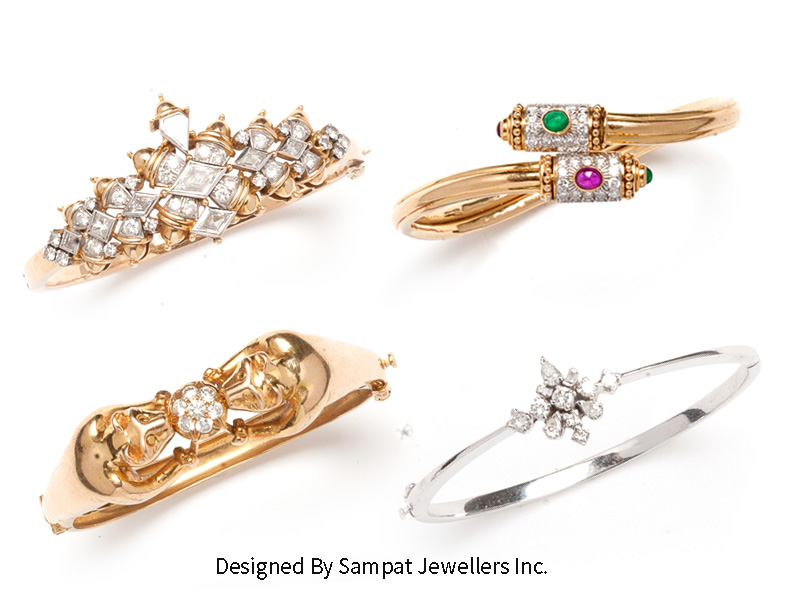 Indian Diamond Bracelet deisgns
