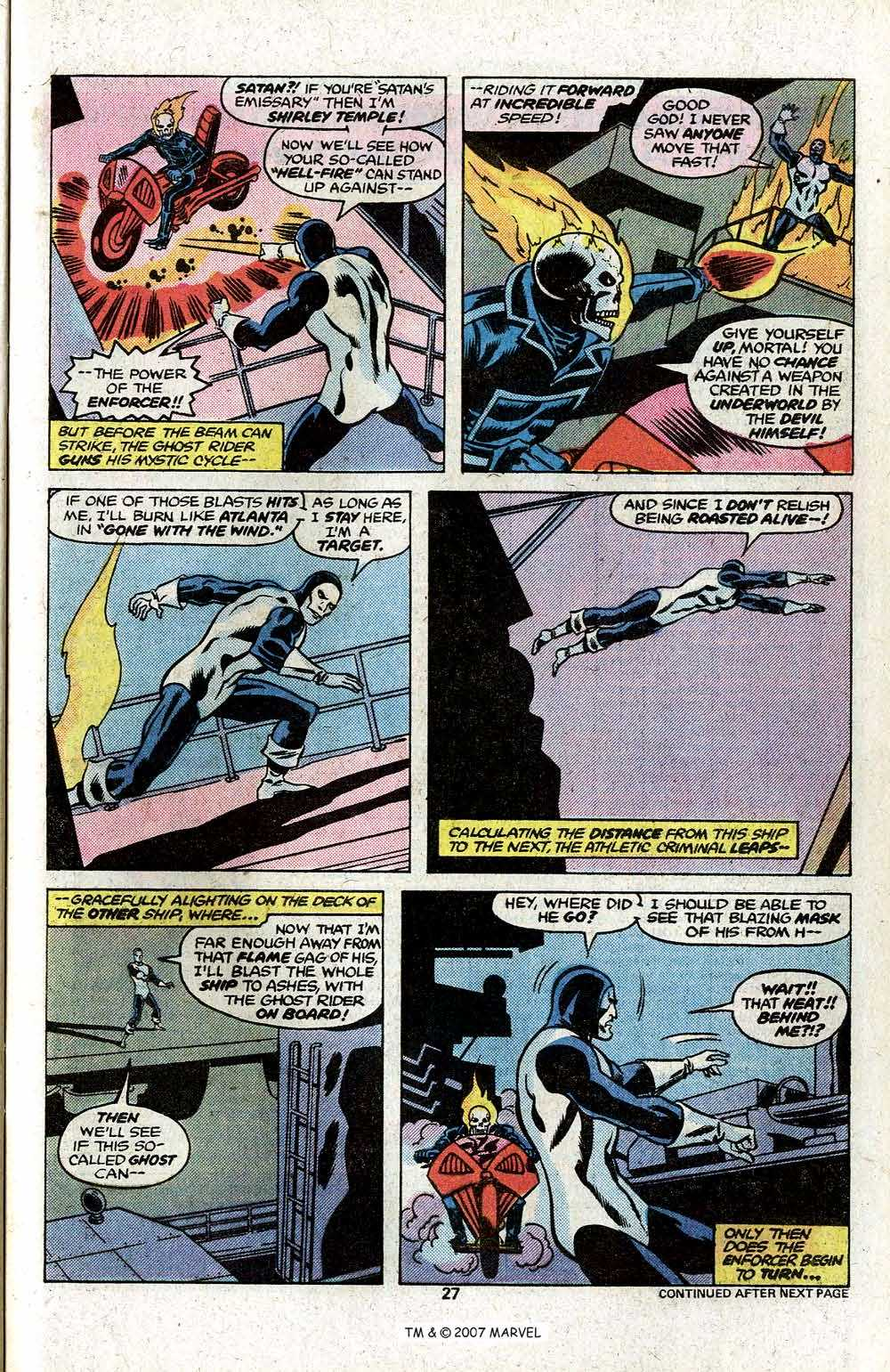Ghost Rider (1973) Issue #22 #22 - English 29