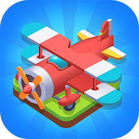 Merge Plane – Click  Idle Tycoon Mod Apk (Infinite Diamond)