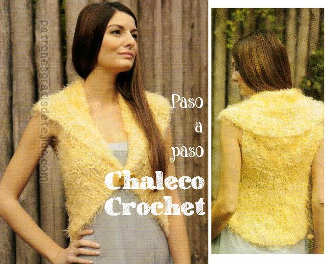 Aprende a tejer un chaleco de mujer con crochet