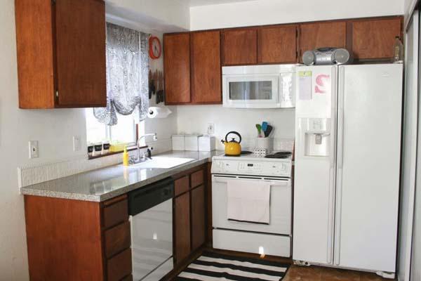 dapur cantik rumah type 36