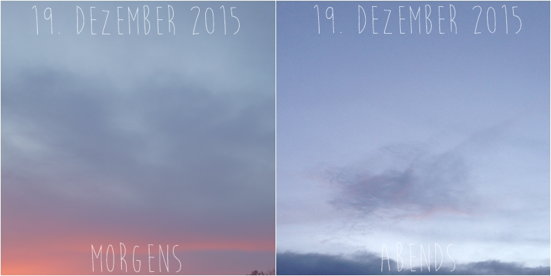 Blog + Fotografie by it's me! - Himmel am 19.12.2015