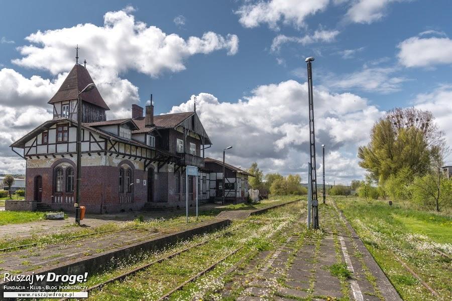 Dworzec w Tolkmicku