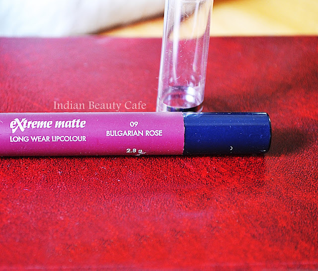 Chambor Extreme Matte Long Wear Lip Colour Shade Bulgarian Rose