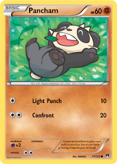 Pancham BREAKpoint Pokemon Card