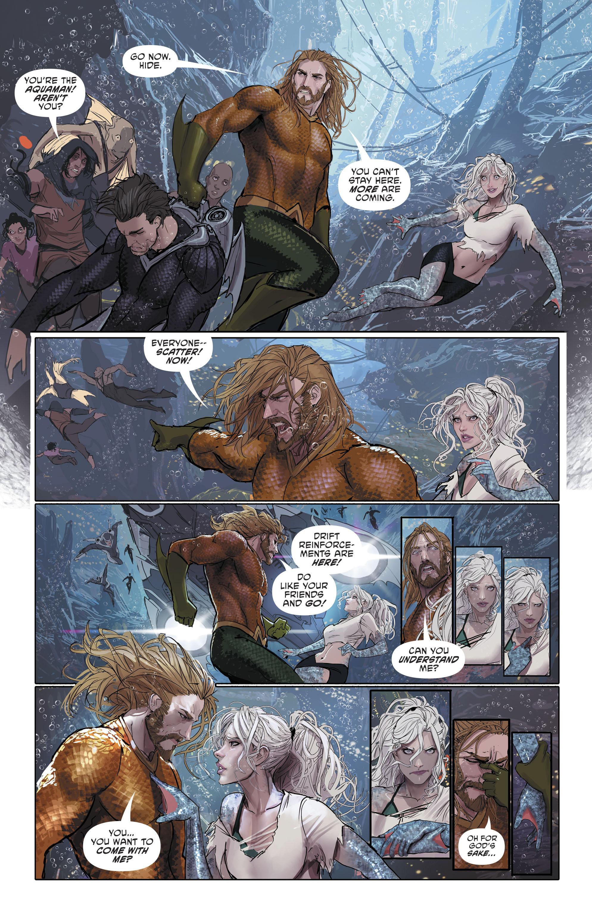 Read online Aquaman (2016) comic -  Issue #25 - 27