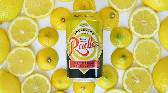 Boulevard Ginger Lemon Radler Returns