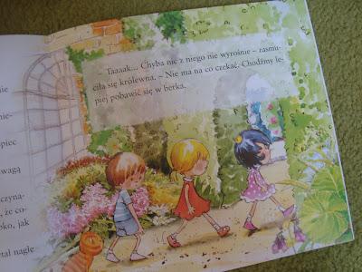 królewna lenka, calineczka, książka dla dzieci