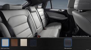Nội thất Mercedes AMG GLE 43 4MATIC 2017 màu Xám Crystal 228
