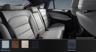 Nội thất Mercedes GLE 450 AMG 4MATIC 2015 màu Xám Crystal 228