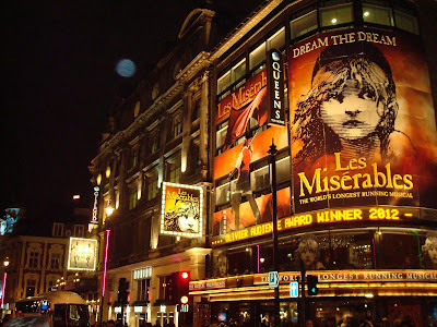 The West End theaters in London