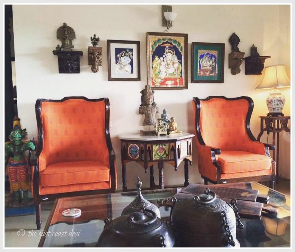 the east coast desi: Smitten by Antique Charm (Home Tour) Perling Interior Design Kerala Home Html on
