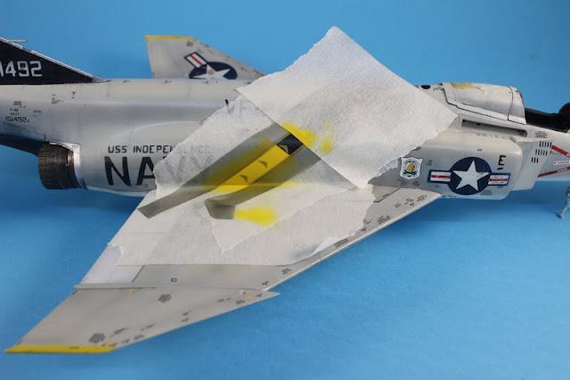 F-4B Phantom II,Eduard 1/48, la remise en état.