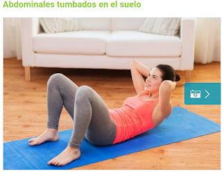 ejercicios para perder panza en casa