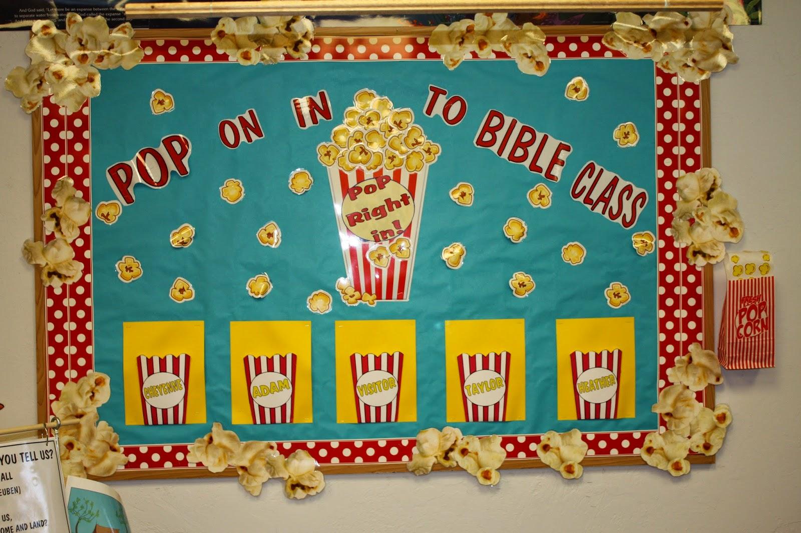 Hands On Bible Teacher Pop On In To Bible Class Attendance Charts