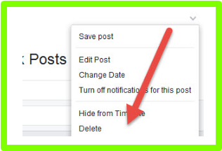 How To Remove All Posts On Facebook