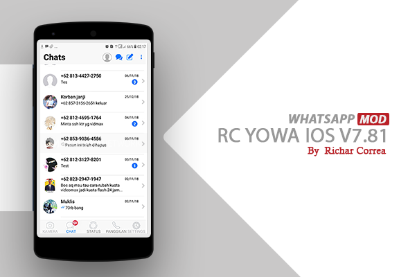 RC-yoWa iOS By Richar Correa V7.81