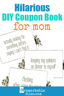 I'm dying laughing at this funny coupon book for moms! If my kids gave me any of these hilarious coupons for my birthday or Mother's Day, I would definitely use them. #real #momlife #funny #parentinghumor