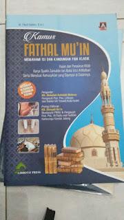 Buku KAMUS FATHUL MUI'N Toko Buku Aswaja Surabaya