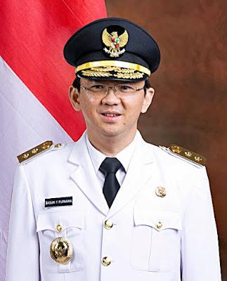 Foto Basuki Tjahaja Purnama sebagai Wakil Gubernur DKI Jakarta