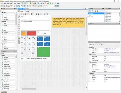 Full software with working keygen, David Esperalta App Builder version 2016.56.