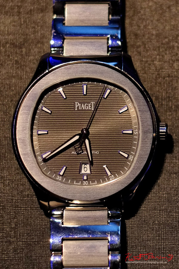 Detail, Piaget Polo S;  Watch Launch - Beta Bar Sydney - Photographed by Kent Johnson for Street Fashion Sydney.