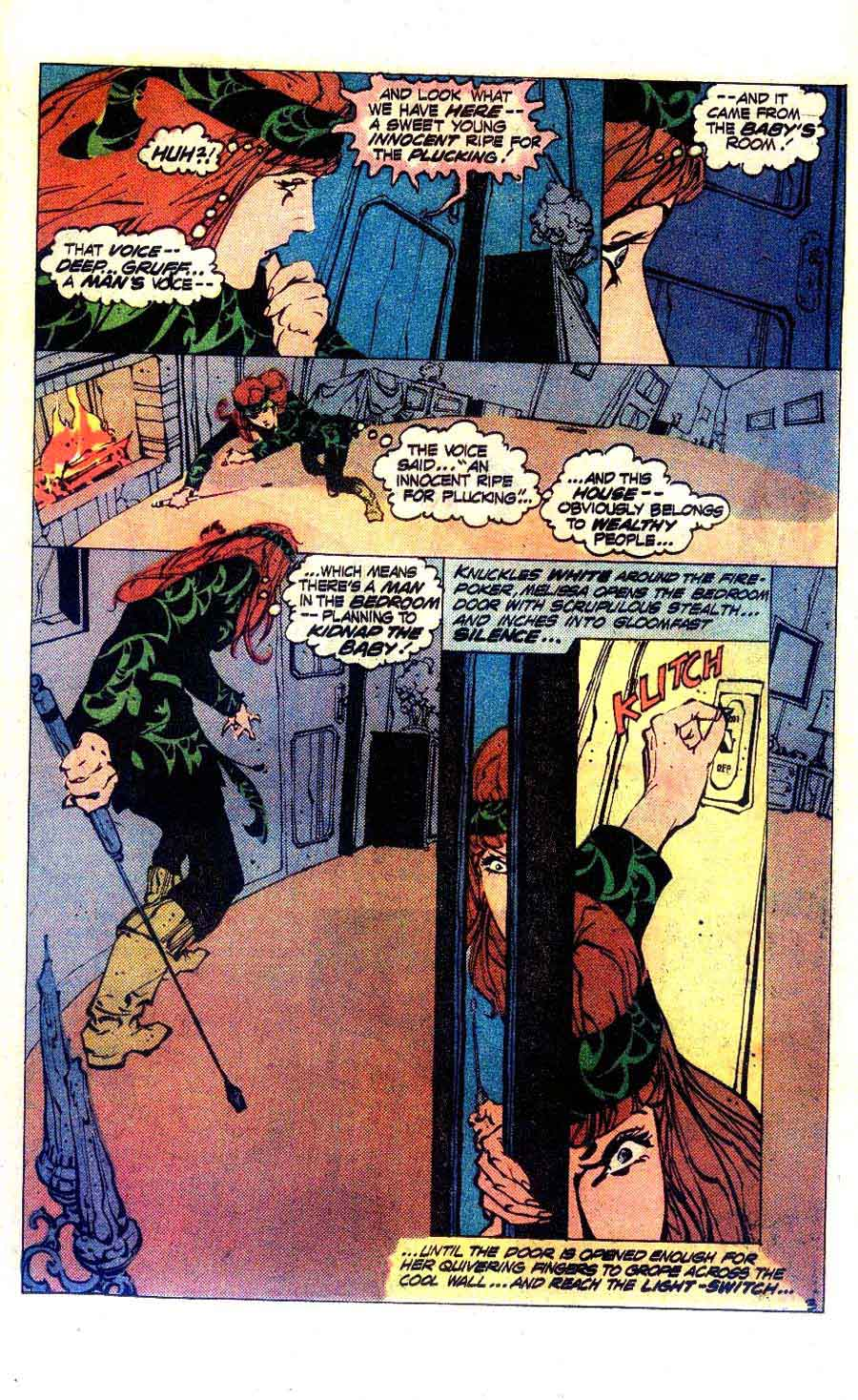 House of Mystery #253 bronze age 1970s dc comic book page art by Alex Nino