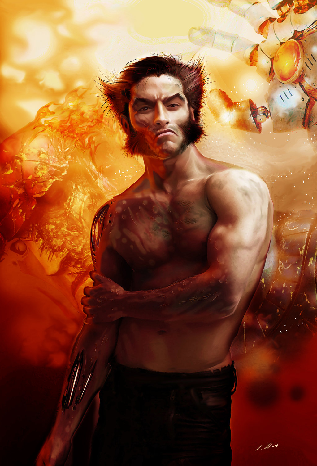 Fashion And Action The Art Of Wolverine S Hair