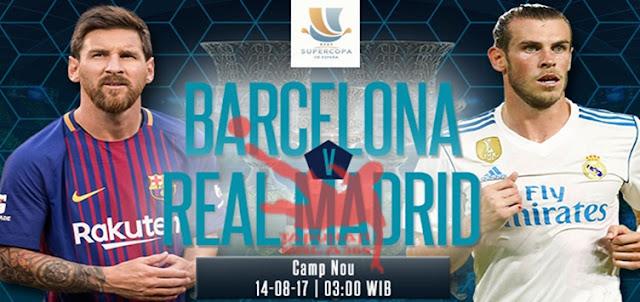 Prediksi Taruhan Bola 365 - Barcelona vs Real Madrid 14 Agustus 2017