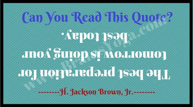 Can you read backward upside down?