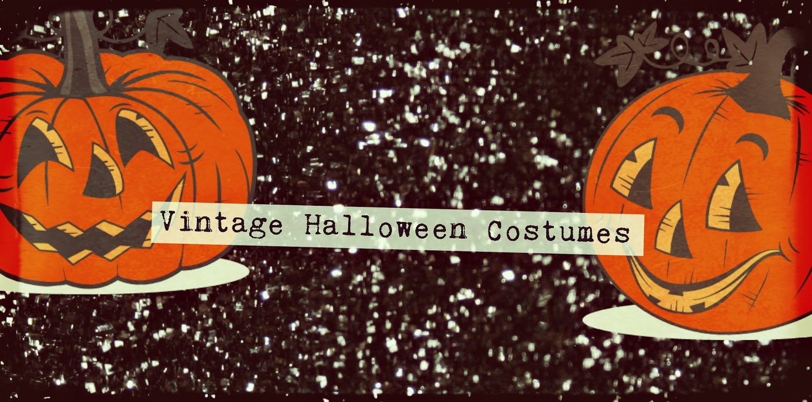 Vintage Halloween Costumes In A Box.The Vintage Glitter Box Glamorous Vintage Halloween Costumes